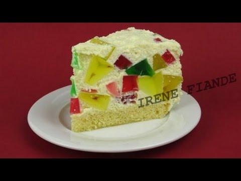 Творожно-желейный торт Битое стекло. Прохладный торт Битое стекло