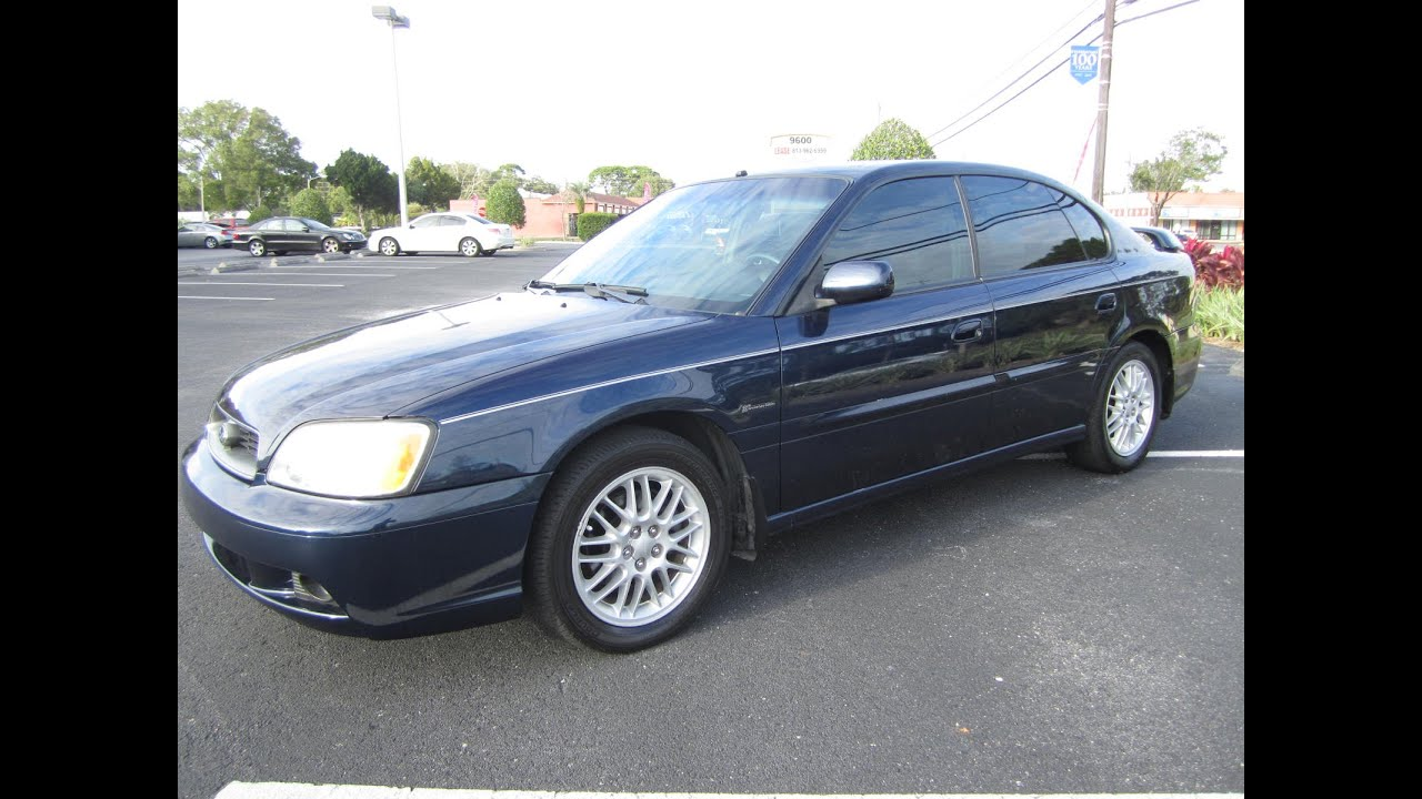 sold 2004 subaru legacy l 35th anniversary meticulous. Black Bedroom Furniture Sets. Home Design Ideas