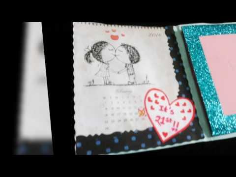 Mini Scrapbook/ Memory book/ Love book
