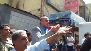 """قيادي حوثي للمعلمات المتظاهرات بصنعاء """"الي يشتي راتب يروح عند سلمان """" والمتظاهرات يهتفن """"نشتي راتب """""""