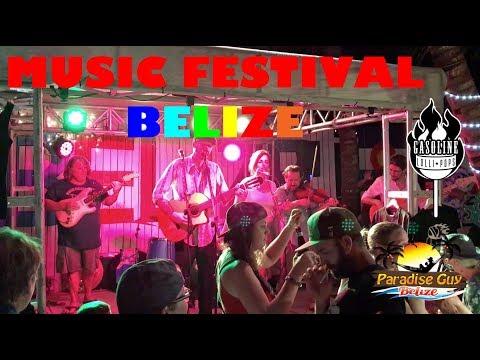 Gasoline Lollipops live at The Dive Bar Music Festival in Belize