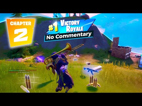 Fortnite Chapter 2 Season 2 Solo Win Gameplay - No Commentary And No Facecam