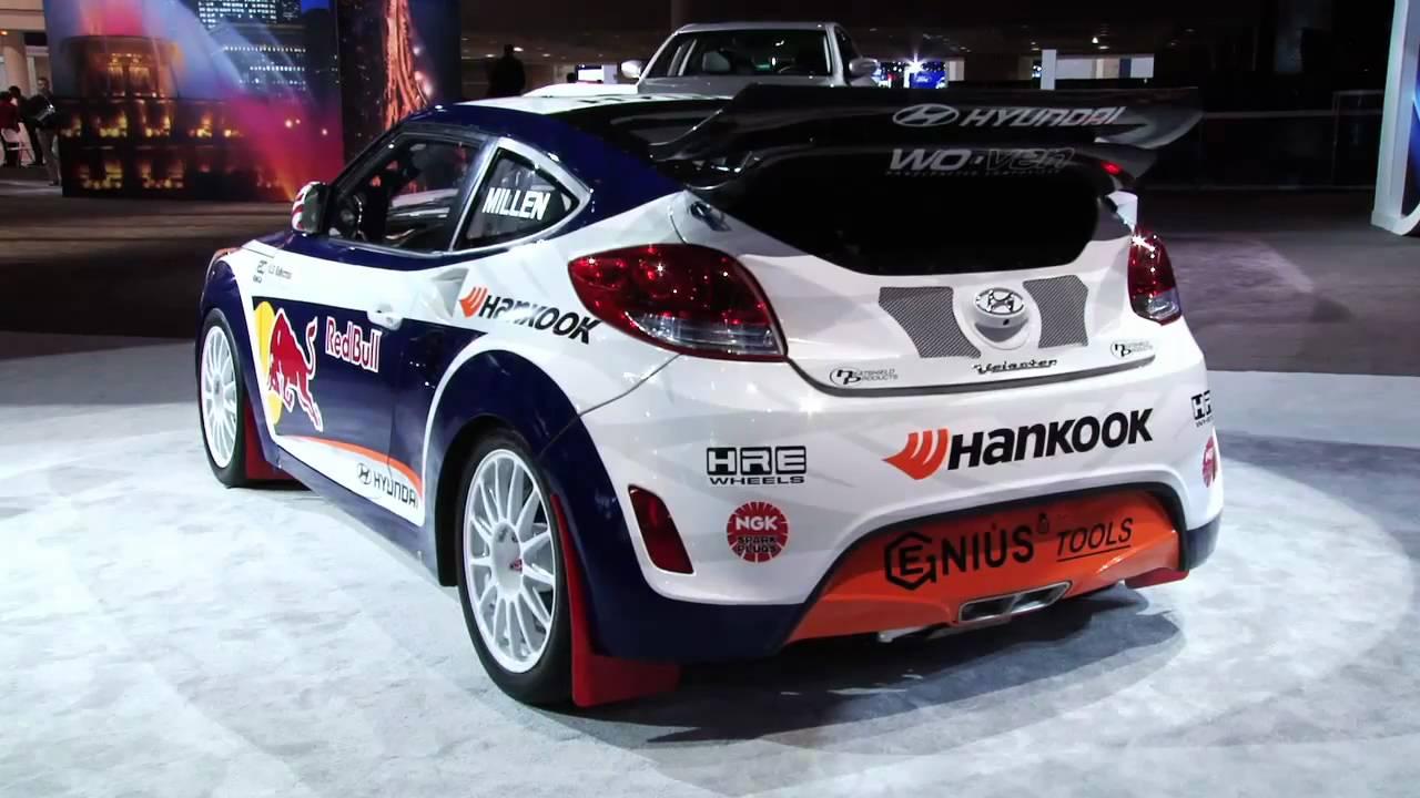 Hyundai Veloster Rally >> 2012 Hyundai Veloster Rally Car 2011 Chicago Auto Show