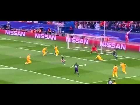 Атлетико Мадрид Барселона 1/4 лиги чемпионов обзор матча 14.04.2016