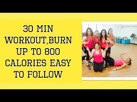 30 minute workout, fun and easy to follow- Burn up to 800 Calories Choreo by Danielle's Habibis