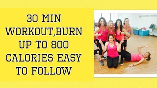 30 minute workout, fun and easy to follow- Choreo by Danielle