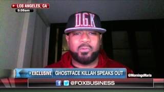 Ghostface Killah hits back at Martin Shkreli on Fox Business Network.