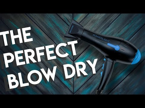 HOW TO BLOW DRY YOUR HAIR WITH A ROUND BRUSH!