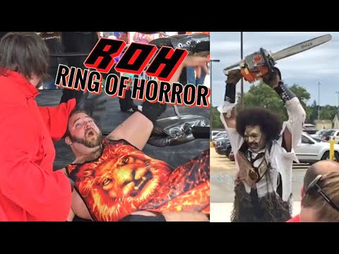 LEATHERFACE TERRORIZES COUNTY FAIR! GRIM POISONED IN SWF TAG TEAM CHAMPIONSHIP MATCH!