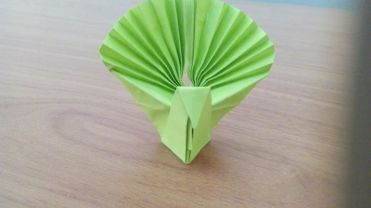 Origami animals origami peacock peacock out of paper how to origami animals origami peacock peacock out of paper how to make peacock easy origami things jeuxipadfo Gallery