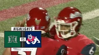Hawaii vs. Fresno State Football Highlights (2018) | Stadium