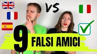 I FALSI AMICI dell'ITALIANO: non fidarti di loro! (resta fino alla fine del video, c'è un bonus)😂
