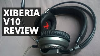 XIBERIA V10 Gaming Headphones Review and Unboxing (Microphone Test)