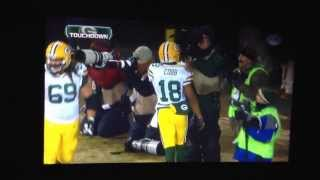 Repeat youtube video Aaron Rodgers TD to Randall Cobb