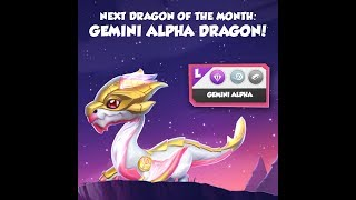 Which couple is the best to get Gemini Alpha Dragon ? - Dragon Mania Legends