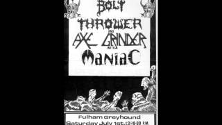 "Bolt Thrower - Drowned In Torment - CrisisPoint / Polka Slam 7""EP on Sisters Of Percy Records"