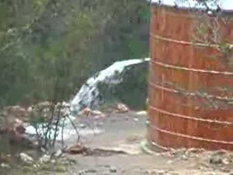 Rain Water Tank Overflow Youtube