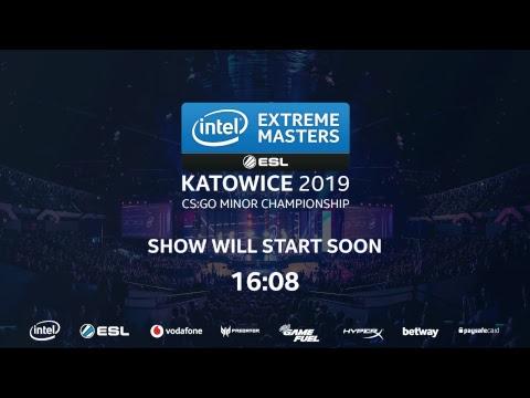 Live: CS:GO - Matchday 2 - IEM Katowice 2019 Minor - Stream B