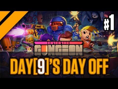 Day[9]'s (Half) Day Off - Enter the Gungeon P1