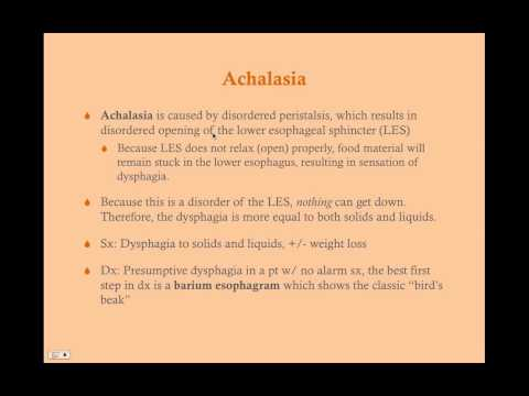 Esophageal Disorders - CRASH! Medical Review Series