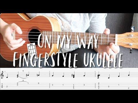 fingerstyle-ukulele-tutorial---on-my-way-by-alan-walker-(with-tabs-on-screen)