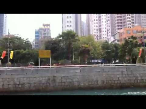 Casas flotantes en HK