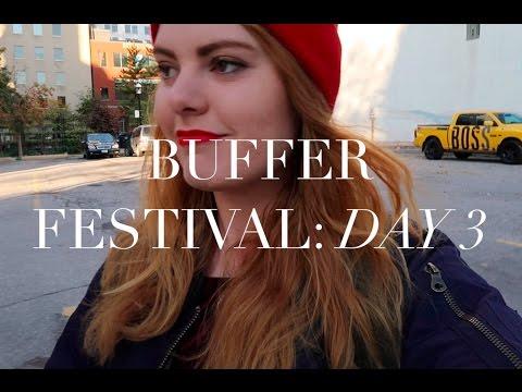 AN ASTRONAUT AT BUFFER FESTIVAL!!