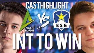 Int to win! | ESG vs ad hoc | Cast-Highlights von Johnny und Sola
