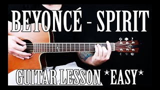 """Baixar How to Play """"Spirit"""" by Beyoncé on Guitar for Beginners [The Lion King]"""