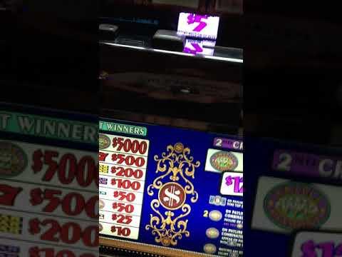 $5 Top Dollar Slot Machine at L'auberge Lake Charles LA