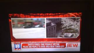 Fox 8 News Cleveland Ohio Shooting Downtown June-22-2016