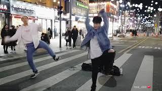 180127 신촌공연 디오비(dob) 성열&효진 / 세븐틴(SEVENTEEN) - 박수(Clap)