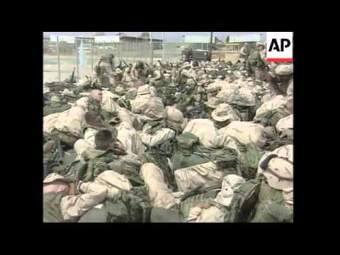 GWT: Marines arrive in Southern Kuwait, bring heavy equipment