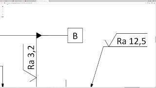 Solidworks. Урок 18 Обозначение БАЗЫ по ГОСТ ЕСКД - создание чертежа