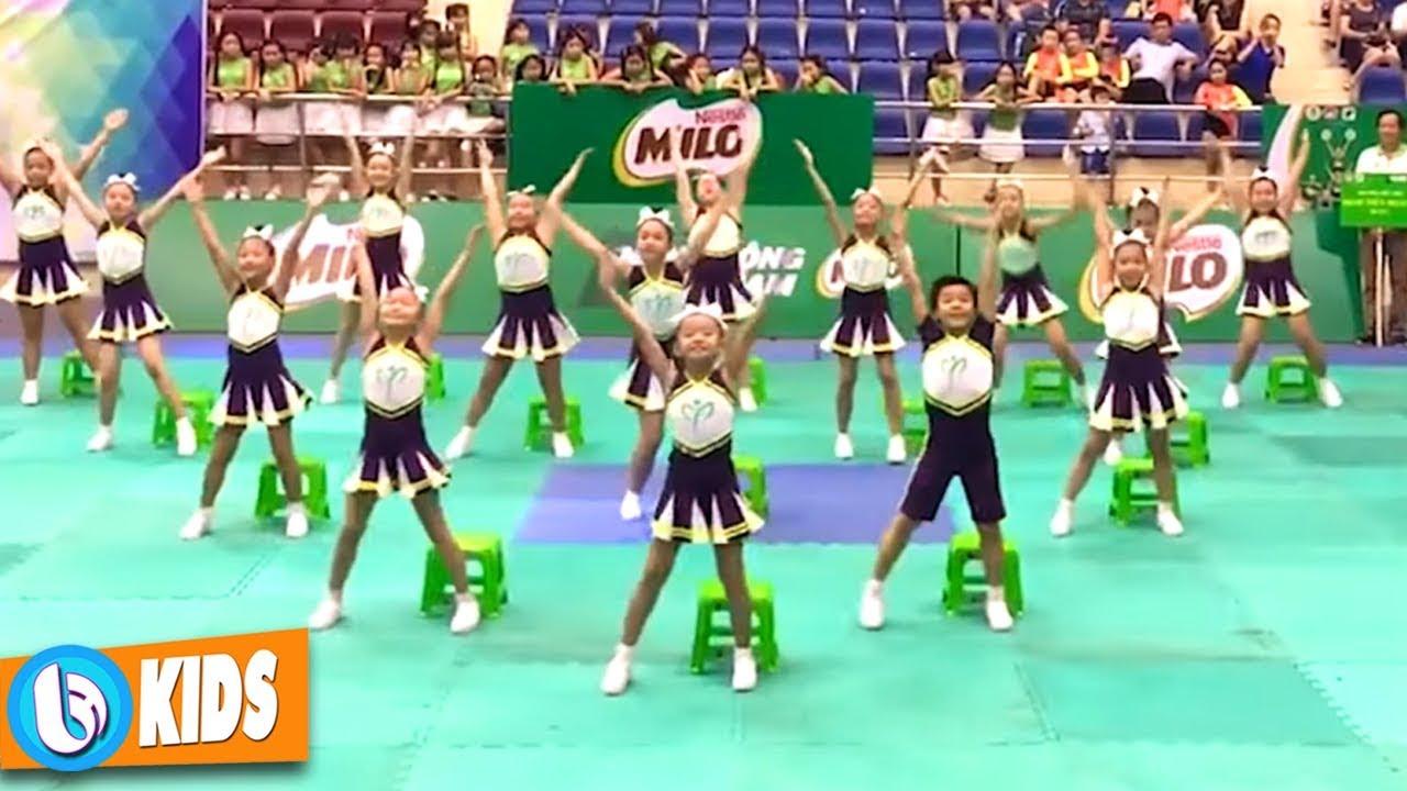Tiếng Hát Chim Non - Bé Quý Dương ♫ Nhảy Aerobic Thiếu Nhi #1