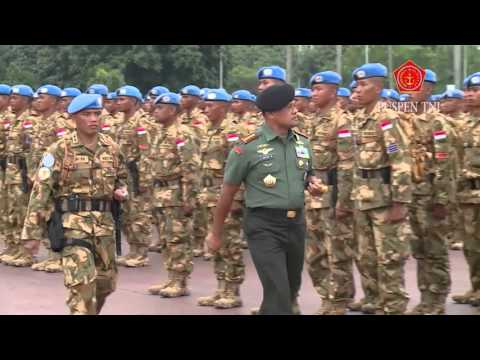 800 Prajurit TNI Misi Perdamaian PBB Berangkat ke Darfur Sudan
