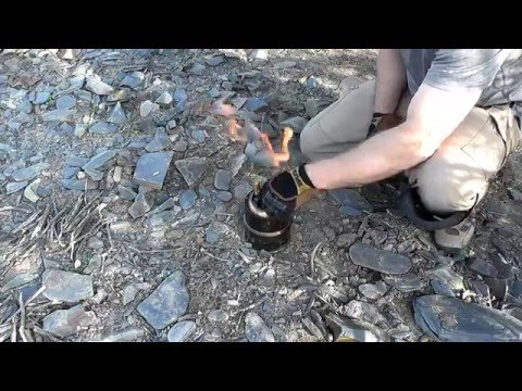 Silverfire Scout Stove (Extended Trip Optimized)