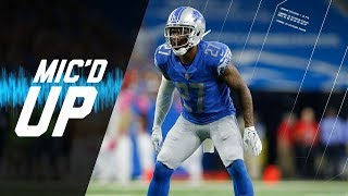 "Glover Quin Mic'd Up vs. Panthers ""At Some Point You Got to Make a Play"" (Week 5) 