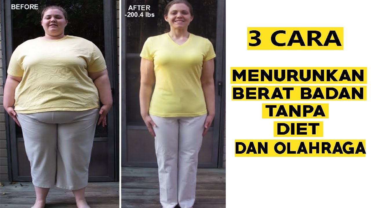 Cara cepat kurus dalam 1 minggu secara alami