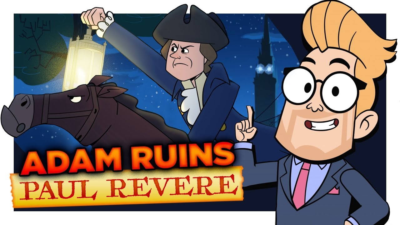 The Midnight Ruin of Paul Revere (with Chris Parnell)