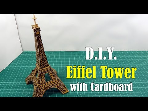 How to Make an Eiffel Tower with Cardboard