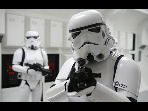 Why Can T Stormtroopers Ever Hit Anything Youtube