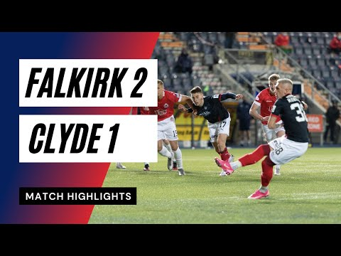 Falkirk Clyde Goals And Highlights