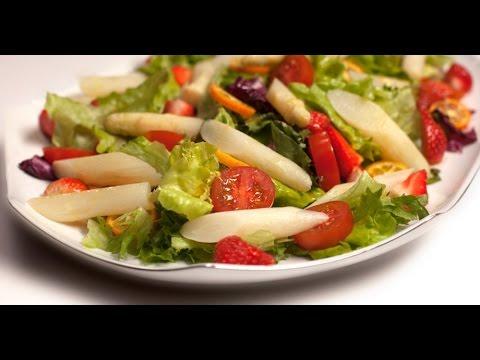 Клубничный салат   7 нот вегетарианской кухни без регистрации и смс