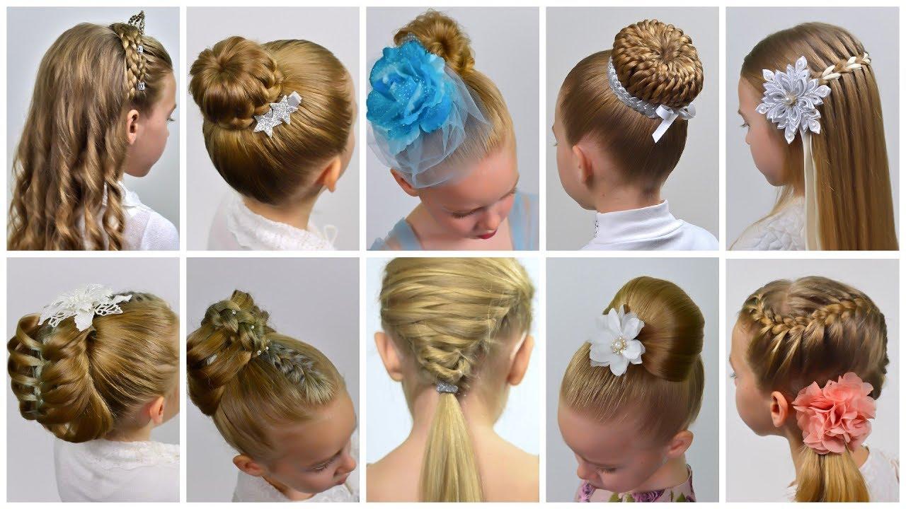 10 EASY Beautiful ELEGANT Hairstyles | PROM Hairstyles| Festival Hairstyles by LittleGirlHair ...