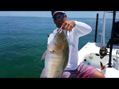 Mutton snapper fishing in Biscayne Bay | Peter Miller Fishing