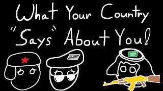 """What Your Country """"Says"""" About YOU! In Video Games."""