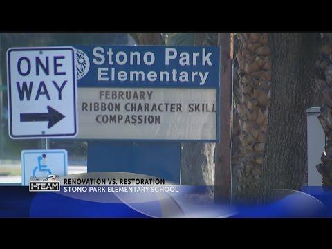Renovation vs. Restoration of Stono Park Elementary School