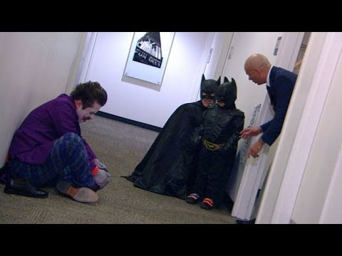 Batkid, Miles Scott, Saves the Day on