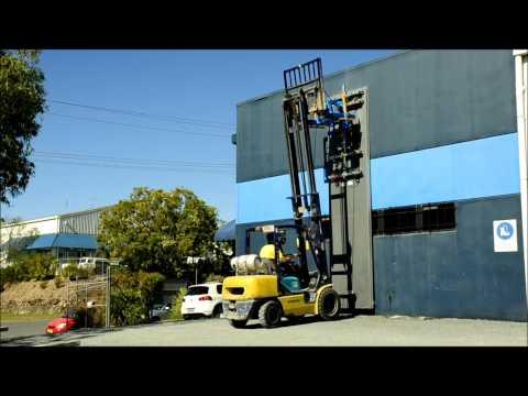 Vaclift FVL500MTMS Forklift or Jib/Crane Unit - Vertical Coolroom Panel Handling